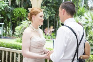Gardens club wedding Brisbane
