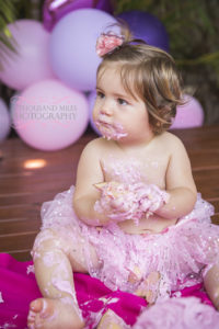 affordable family photographer cake smash