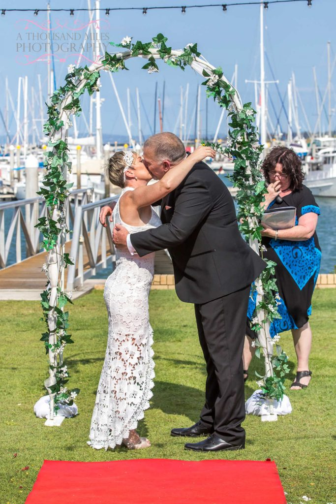 moreton bay trailer boat club wedding photographer